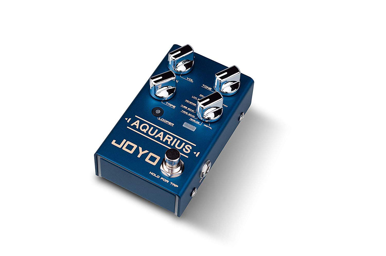 Pedal de Guitarra Joyo AQUARIUS Delay + Looper