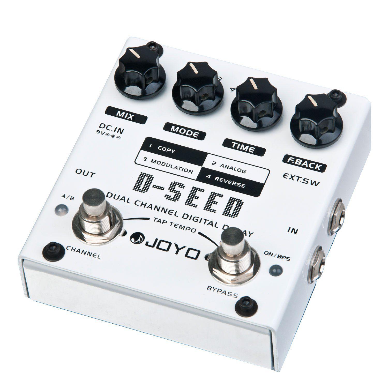 Pedal de Guitarra Joyo D-Seed Dual Delay