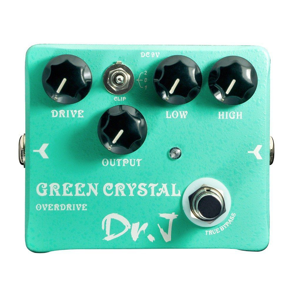 Pedal Digital Joyo Green Crystal Overdrive