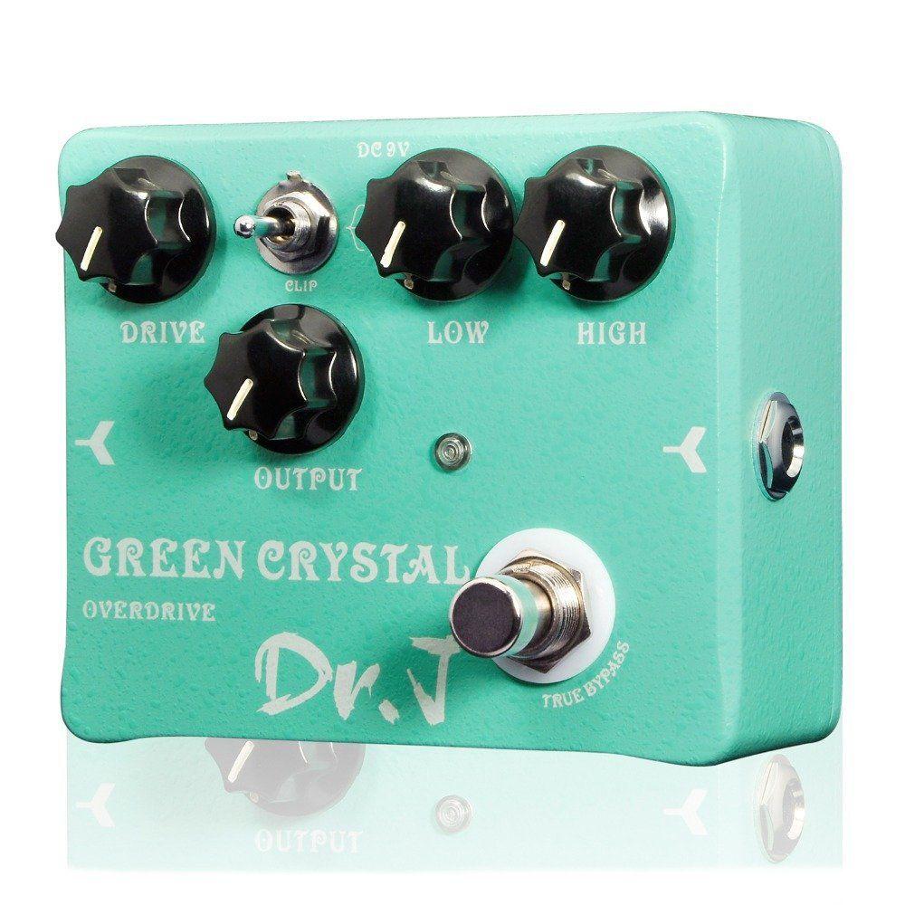 Pedal de Guitarra Joyo Green Crystal Overdrive