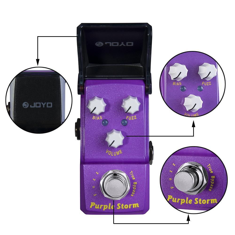 Pedal de Guitarra Joyo Purple Storm Fuzz