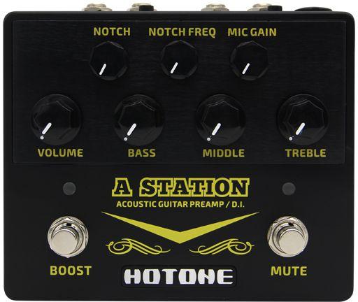 Pedal De Violão Hotone Preamp A Station