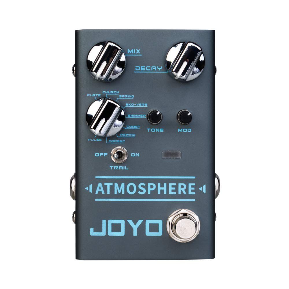 Pedal de Guitarra Joyo Atmosphere Digital Reverb