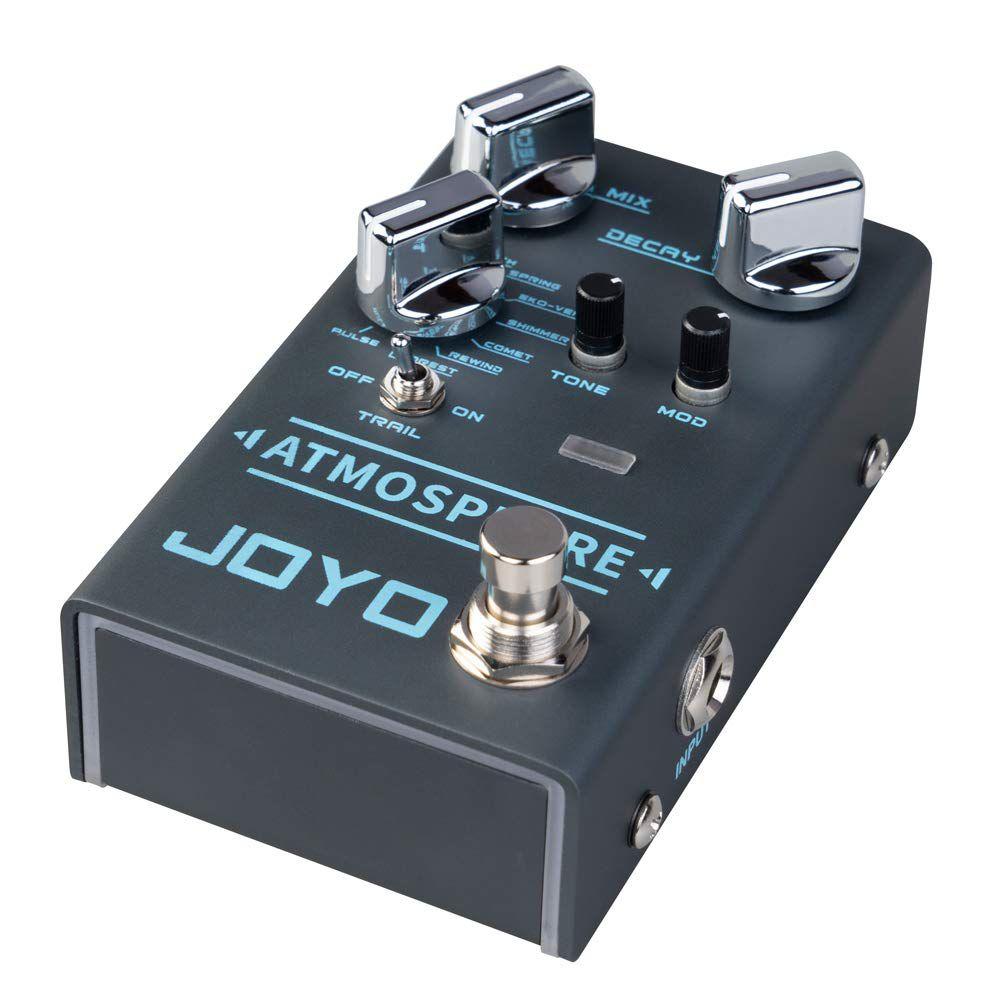 Pedal de Guitarra Joyo Atmosphere Digital Reverb