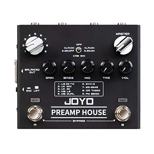 Pedal de Guitarra Joyo Preamp House