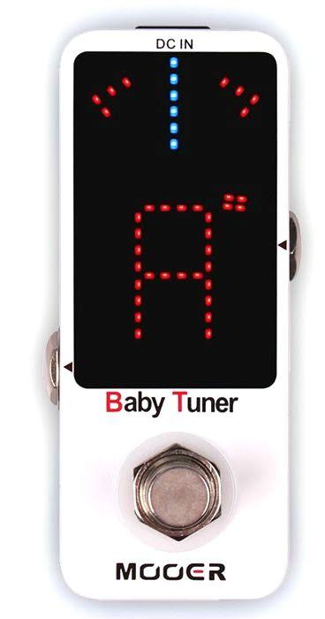 Pedal de Guitarra Mooer Baby Tuner