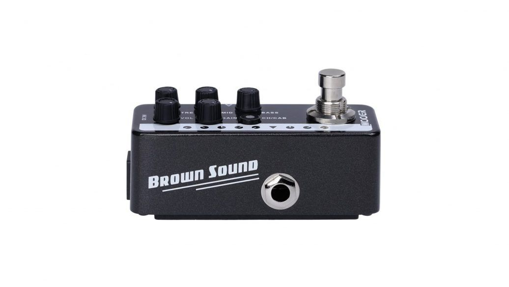 Pedal de Guitarra Mooer Brown Sound M015