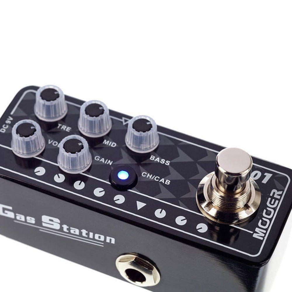 Pedal de Guitarra Mooer Gas Station M001