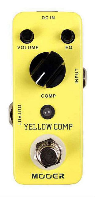 Pedal de Guitarra Mooer Yellow Comp Compressor