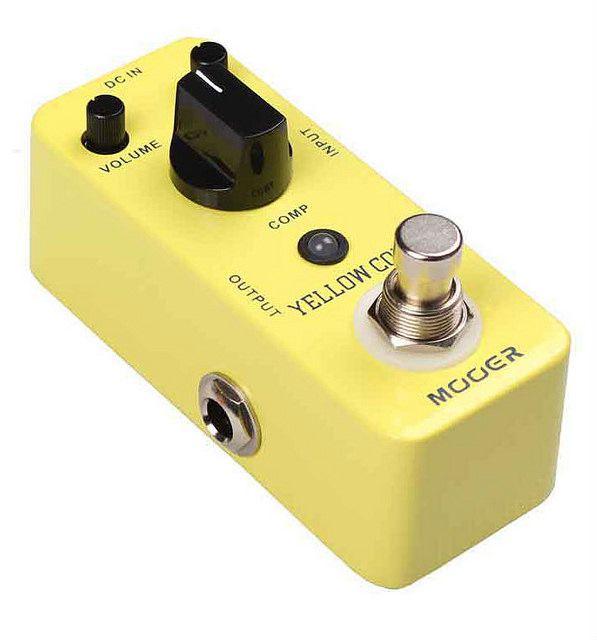 Pedal de Guitarra Mooer Yellow Comp Compressor