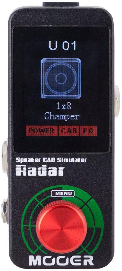 Pedal Simulador De Gabinete Mooer Radar Ms1