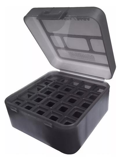 Caixa para 25 Munições Calibre 12GA - Cores Variadas - Shotgun