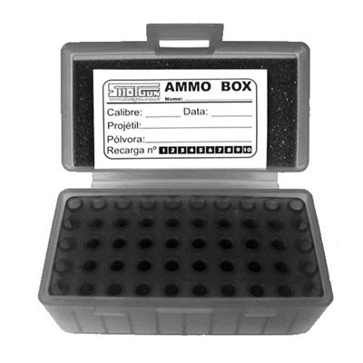 Caixa Shotgun para 50 cartuchos cal. 40/45 Fumê