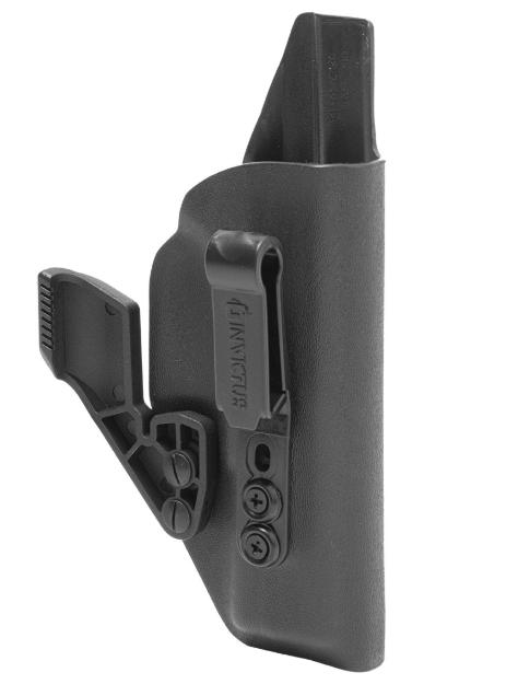 Coldre IW B Destro Invictus Glock Standard Preto