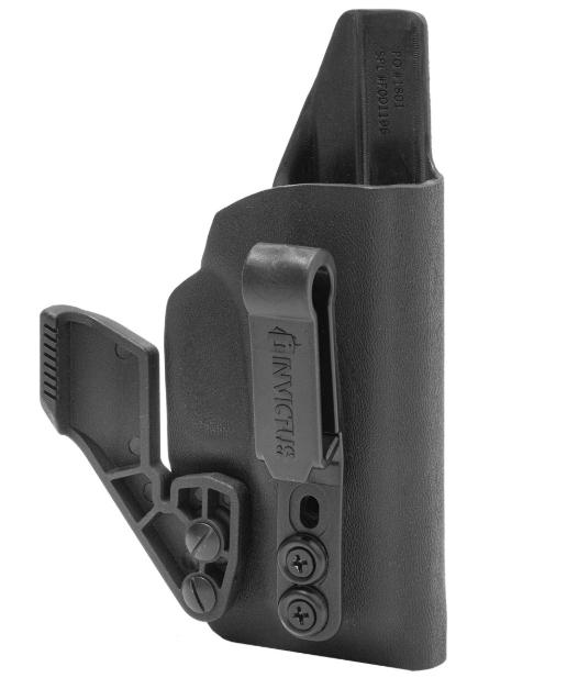 Coldre IW B Destro Invictus Glock Subcompact Preto