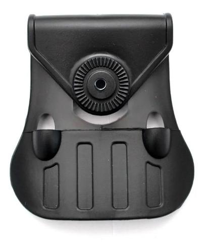 Coldre Ostensivo Rotativo em Polímero c/ Trava para Pistolas G2C e Glock em Geral - Só Coldres