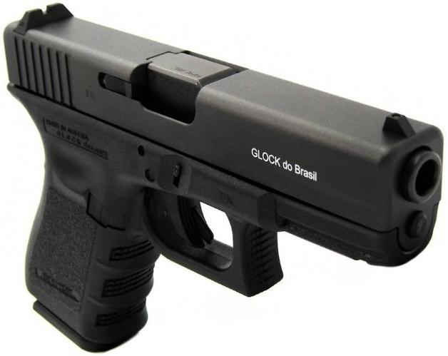 Pistola Glock G25 - Cal. 380 ACP - Oxidada