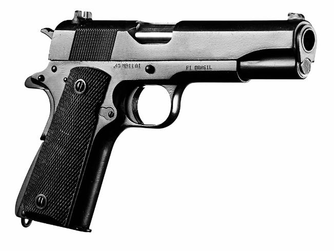 Pistola  M911 A1 - Calibre .45 - Imbel
