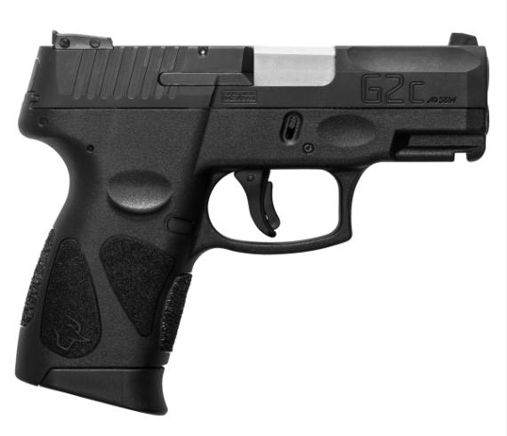 Pistola Taurus G2C - Calibre .40 S&W - Carbono Fosco
