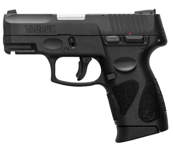 Pistola Taurus G2C - Calibre 9mm - Carbono Fosco