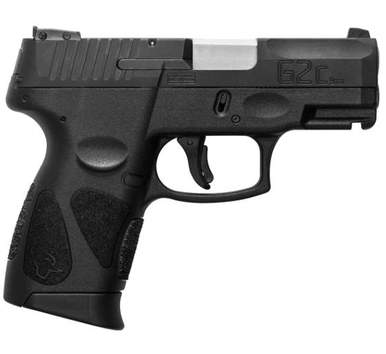 Pistola Taurus G2C - Calibre 9mm - Carbono Fosco