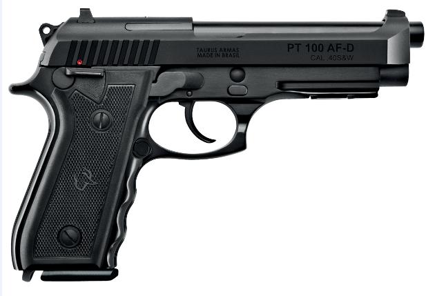 Pistola Taurus PT 100 - Calibre .40 S&W - Teneferizada
