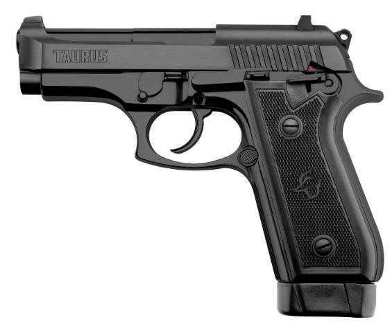 Pistola Taurus PT 58 HC Plus Cal. 380 - 19 Tiros - Oxidada Fosco
