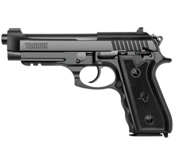 Pistola Taurus PT 92 AF-D - Calibre 9mm - 17 Tiros - Teneferizado