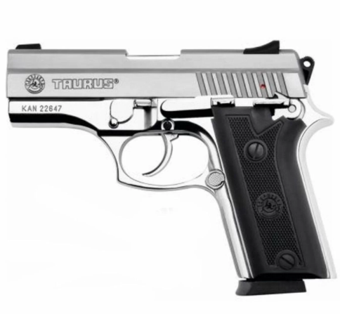 Pistola Taurus PT 938/15 Cal. 380 Auto - Inox Fosco