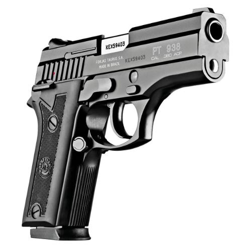 Pistola Taurus PT 938/15 - Cal.380 Auto. Oxidado Fosco