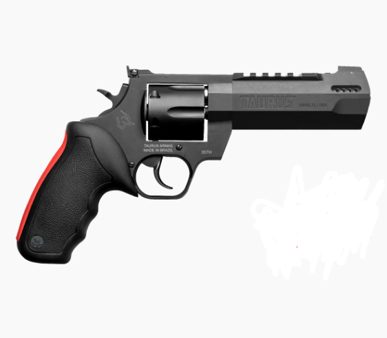 "Revólver Taurus RT 357H Magnum Carbono Fosco - 7 Tiros - Cano 5.11"""