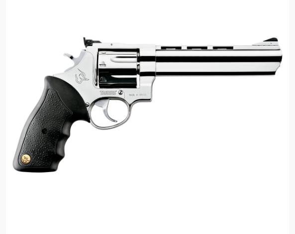 "Revólver Taurus RT 608 .357 Magnum 6,5"" - 8 Tiros - Inox Alto Brilho"