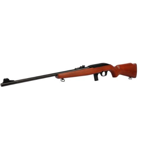 """Rifle CBC 7022 Semiautomático - Calibre .22LR - 10 Tiros - Cano 21"""" - Coronha Madeira - Oxidado"""