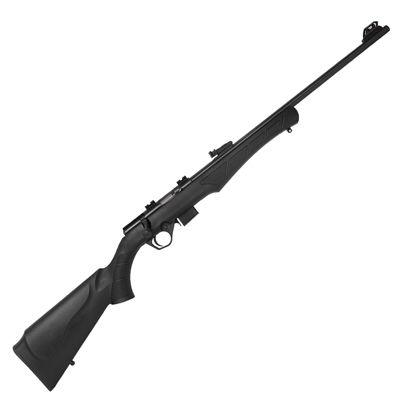 """Rifle CBC 8117 Bolt Action Cal .177HMR - Cano 21"""" - 5 Tiros - Oxidado - Polímero"""