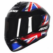 Capacete Axxis Draken UK Gloss black/red/blue