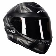 Capacete Axxis Draken UK Matt Black/Grey