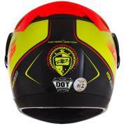 Capacete De Moto Evolution G6 788 Factory Edition Amarelo/Preto