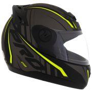 Capacete De Moto Evolution G6 788 Neon Preto