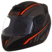 Capacete De Moto Evolution G6 788 Pro Preto/Vermelho