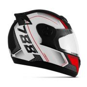 Capacete De Moto Evolution G6 788 Pro Series Vermelho
