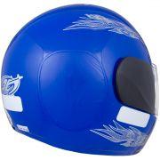 Capacete De Moto Liberty 4 Azul