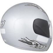 Capacete De Moto Liberty 4 Prata