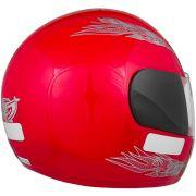 Capacete de Moto Liberty 4 Vermelho
