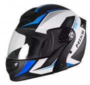Capacete De Moto Mixs Gladiator Neo Preto/Azul