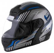 Capacete De Moto Mixs Gladiator Tech Preto/Azul