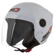 Capacete De Moto New Liberty 3 Branco