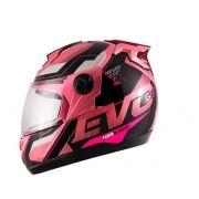 Capacete Evolution G8 Evo (rosa)