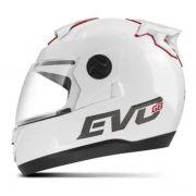 Capacete Evolution G8 Evo solid (branco)