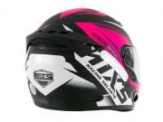 Capacete Feminino De Moto Mixs Mx2 Storm Preto/Rosa