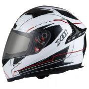 Capacete Para Moto Volt Branco X11
